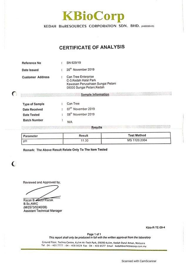 KBioCorp pH Test